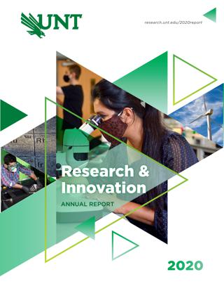 Cover of Research and Innovation Annual Report 2020