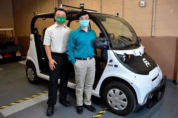 Qing Yang and Song Fu and autonomous vehicle