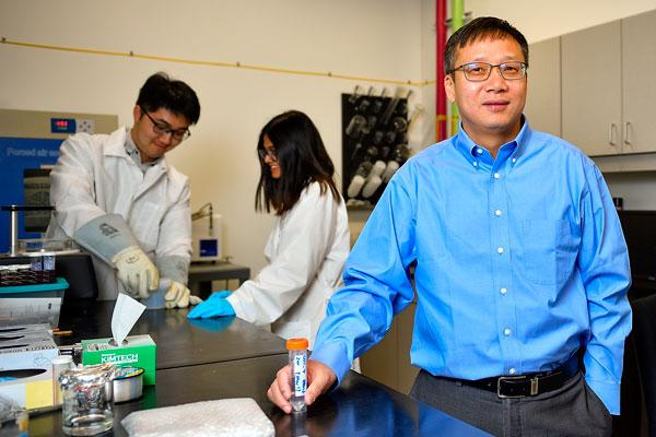 UNT professor's discovery will prevent nuclear waste contamination in the future