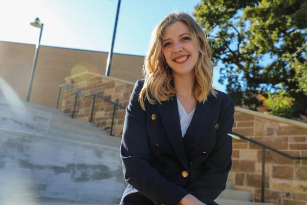 Undergraduate researcher dedicated to finding a cure for her own disease