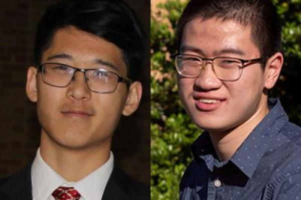TAMS students named 2020 Goldwater Scholars