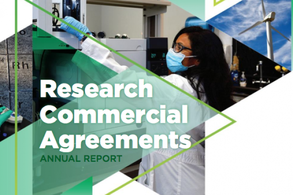 Research Commercial Agreements 2020 Annual Report